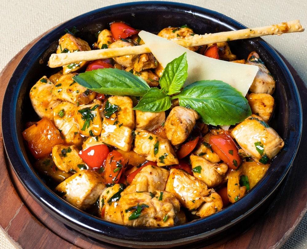 Tajine poulet olives citron confit